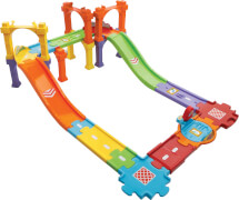 Vtech 80-188204 Tut Tut Baby Flitzer-Straßen-und Brückenset, groß, ab 12 Monate - 5 Jahre, Kunststoff