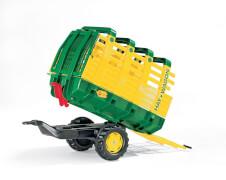 rollyToys Hay Wagon Heuwagen Grün Einachser