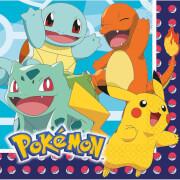 16 Servietten Pokemon 33 cm