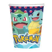 8 Becher Pokemon 250 ml