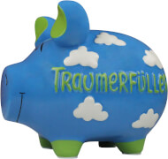 Sparschwein ''Traumerfüller'' - Monsterschwein von KCG - Höhe ca. 25 cm